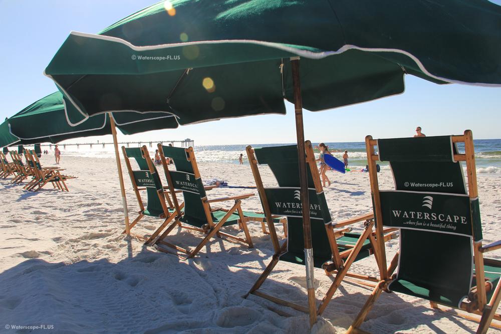 Waterscape Condos Beach Setup